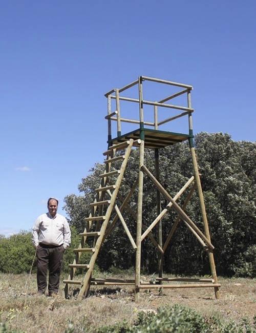 torretas para caza