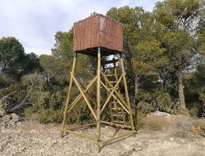 torreta de caza